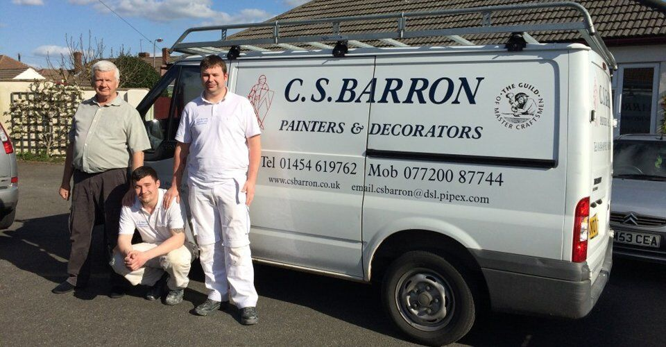 cs barron painters bristol, decorators bristol